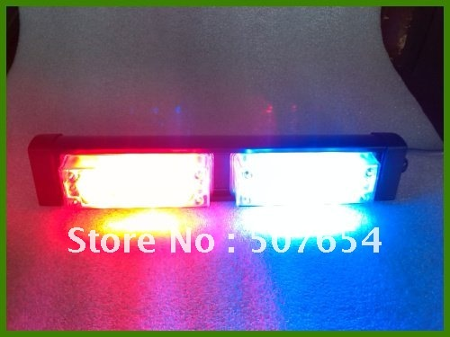 ФОТО Free shipping! High intensity DC12V,8W Super Led emergency light/strobe light/head light/warning light, 3kinds flashing patter