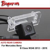 Para Mercedes Benz Classe B W246 2012-2015 visão CCD Noite visão Câmera de visão Traseira Do Carro de Volta até Câmera Reversa Estacionamento Câmera