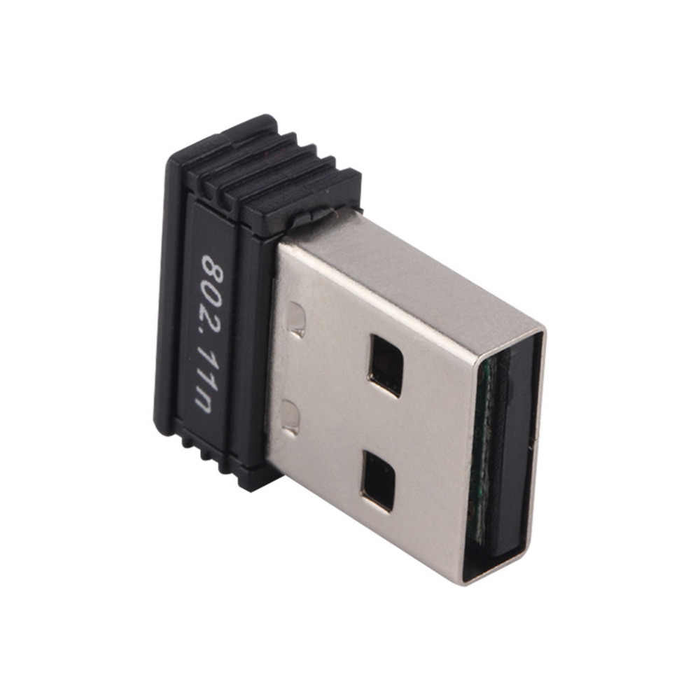 1 adet Mini USB WiFi kart Adaptörü N 802.11 b/g/n Wi-Fi Dongle Yüksek Kazanç 150Mbps kablosuz Anten wifi bilgisayar Telefonu için