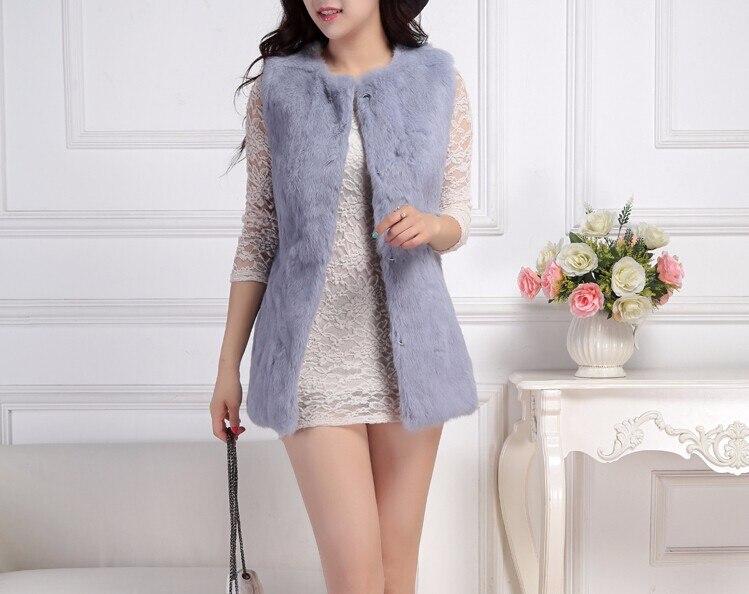 Лучшее качество, натуральный кроличий мех, жилет для женщин, модный натуральный кроличий мех, жилетка, фабричная, опт и розница, TFP950