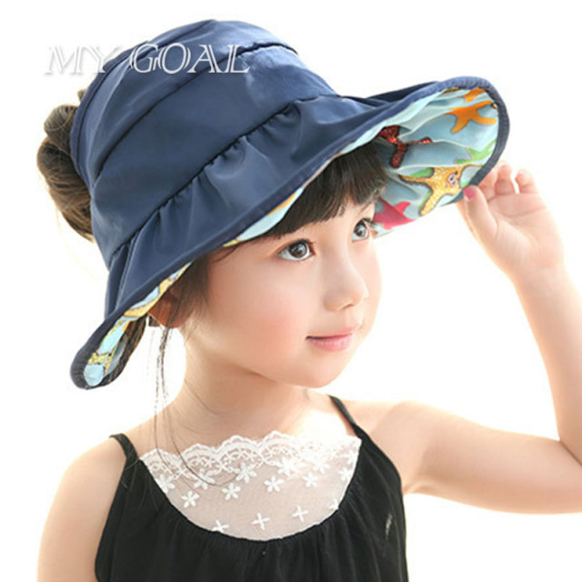 ca9b45446ae Foldable New Baby Waterproof Pots Fisherman Caps Visor For Children Sun Hat  Dayan Mao For Girl Boy Children S Summer Hats