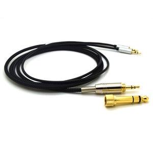 Image 4 - สำหรับ HIFIMAN HE400S HE 400I HE560 เขา 350 HE1000 V2 เปลี่ยนสายหูฟัง 3.5 มม.ชาย 6.35 มม.ถึง 2X2.5 มม.HIFI สายไฟ