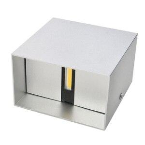 Image 3 - DONWEI applique murale en Aluminium LED, éclairage décoratif pour lintérieur, éclairage simpliste, pour chambre à coucher, escaliers, couloir, 12W, ac 110/mur LED V