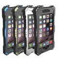 R-JUST IP68 Водонепроницаемый Анти Пыли Мороз Дайвинг Алюминий Металл gorilla Glass Case для iphone 6 6 s/6 plus 6 s плюс