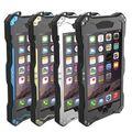 R-just ip68 à prova d' água anti poeira geada metal metal de alumínio de mergulho gorilla glass case para iphone 6 6 s/6 plus 6 s além de