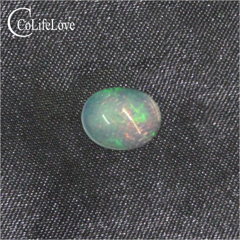 CoLife Jewelry 4mm*6mm natural opal loose gemstone whole price opal loose stone for jewelry DIY