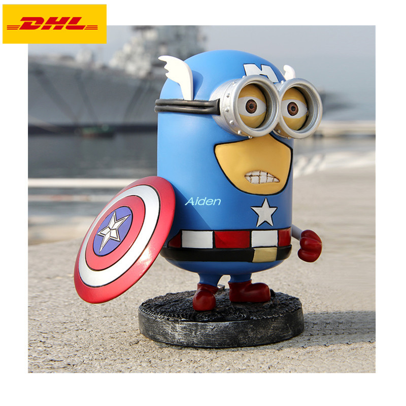 7 Statue The Avengers Superhero Captain America Steven Rogers Q Version  GK Action Figure Collectible Model Toy BOX 17CM B4447 Statue The Avengers Superhero Captain America Steven Rogers Q Version  GK Action Figure Collectible Model Toy BOX 17CM B444