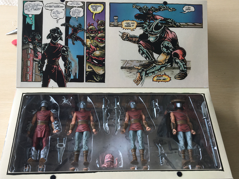 NECA NYCC Original The Shredder Action Figures Limited Ver Model Toys 16cmNECA NYCC Original The Shredder Action Figures Limited Ver Model Toys 16cm