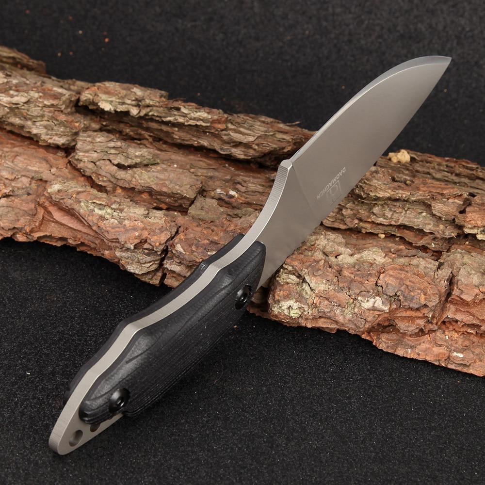 Full Tang Najnowszy nóż taktyczny Survival Camping Outdoor - Narzędzia ręczne - Zdjęcie 5