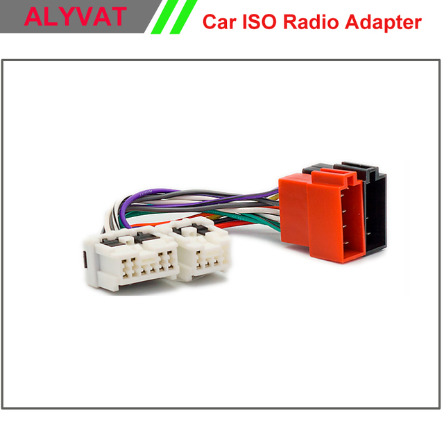 car iso stereo wiring harness for nissan almera micra murano 350 z rh aliexpress com nissan wiring harness connectors nissan wiring harness connectors