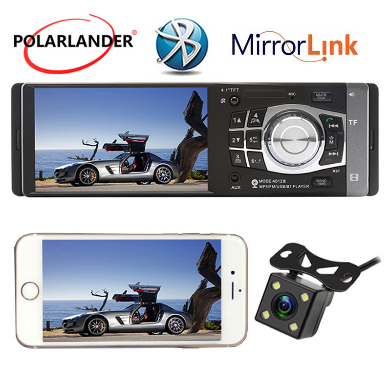 Car Radio Auto Audio Stereo MP5 player Support Rear font b Camera b font USBMirror Link