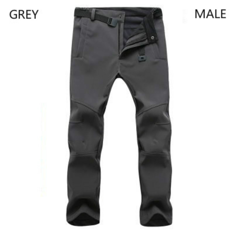Mountainskin New Men's Winter Softshell Fleece Pants Outdoor Waterproof Hiking Camping Trekking Skiing Male Sport Trousers Women