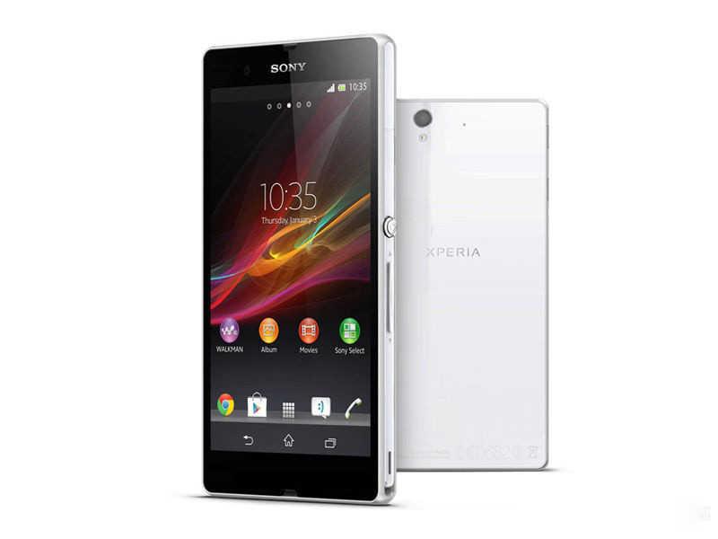 """Téléphone portable Sony Xperia Z C6603 débloqué d'origine 5.0 """"écran Quad-Core 2G RAM 16 GB ROM avec caméra 13.1MP"""