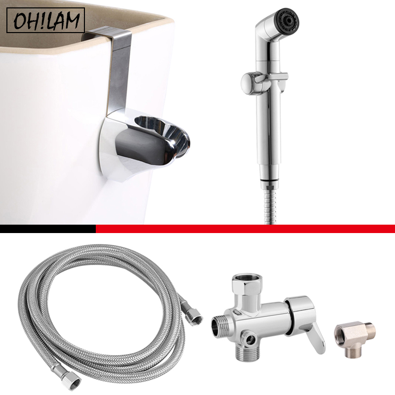 Incredible Us 43 28 55 Off Dual Temperature Hot Cold Mixer Valve Upgrade Kit Handheld Bidet Diaper Shattaf Sprayer Heads Bidet Faucet With Shower Hose In Gmtry Best Dining Table And Chair Ideas Images Gmtryco