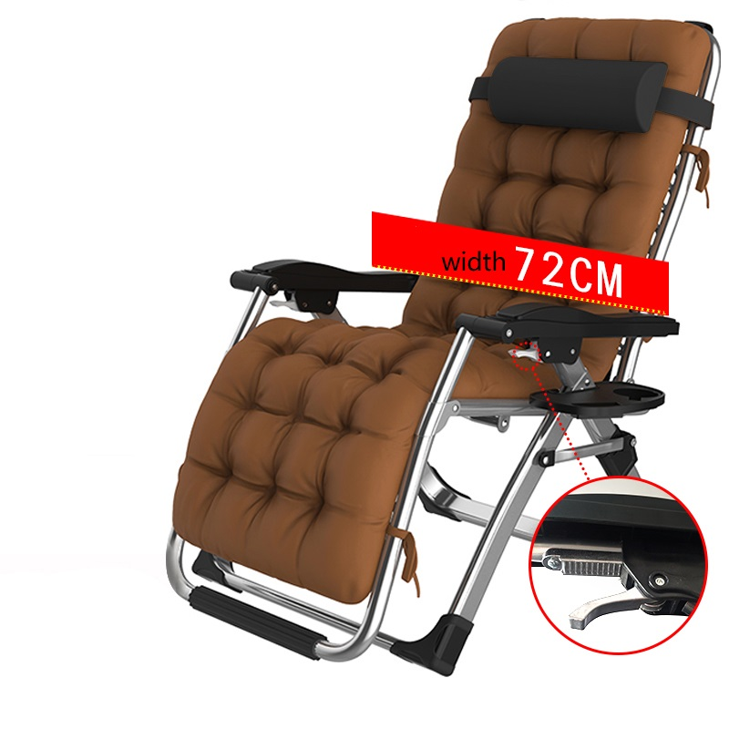 Cozy Aluminum Padded Zero Gravity Chaise Lounge Chair