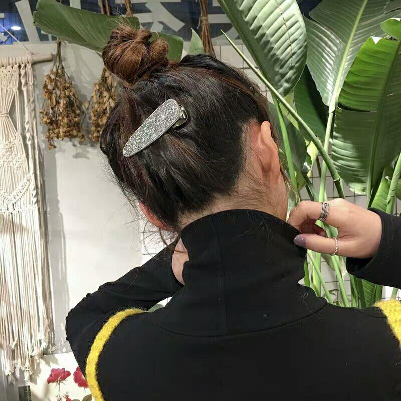 2019 Popular Fashion Crystal Hairgrip Women Girls Duck Hair Clips Pins Accessories for Women Barrette Hairclip Hairpin Headdress in Women 39 s Hair Accessories from Apparel Accessories