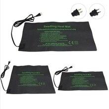 Нагревательный коврик для растений 24*52/52*52/121*52 см, электрическое одеяло с цветком для рассады, водонепроницаемое теплое прочное гидропонное грелка