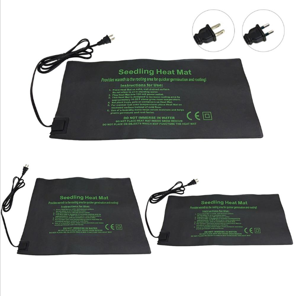 Plant Heating Mat 24*52/52*52/121*52cm Seedling Flower Electric Blanket Waterproof Warm Durable Hydroponic Heating Pad
