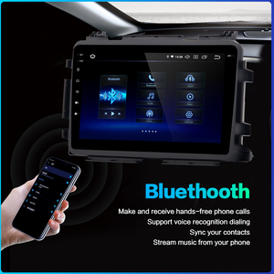 "Image 3 - Dasaita 1 din 1080P Video Car Android 10 Radio GPS for Honda Vezel HR V HRV 2014 2015 2016 2017 Bluetooth 9"" Multi Touch Screen"