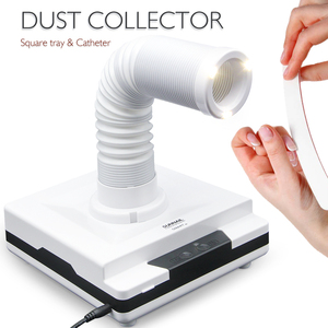 Image 2 - LKE 60W Nail dust collector Adjustable Telescopic Suitable for Nail Salon Vacuum Cleaner 4500Rpm Nail Nail equipment tool