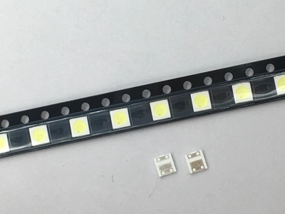 Active 100pcs For Lextar Led Backlight 1w 3030 3v Cool White 80-90lm Tv Application New Lextar Pct Led 3v Active Components Diodes