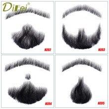 DIFEI barbe fausse moustache hommes