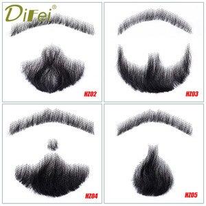 Image 1 - DIFEI barbe fausse moustache hommes