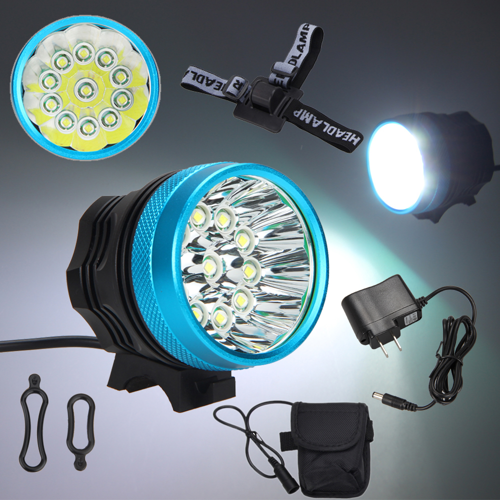 Super Bright CREE T6 LED Mountain Bike Front Light Cycling Bicycle Head Light RX