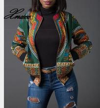 2019 ladies sexy retro national fashion jacket print