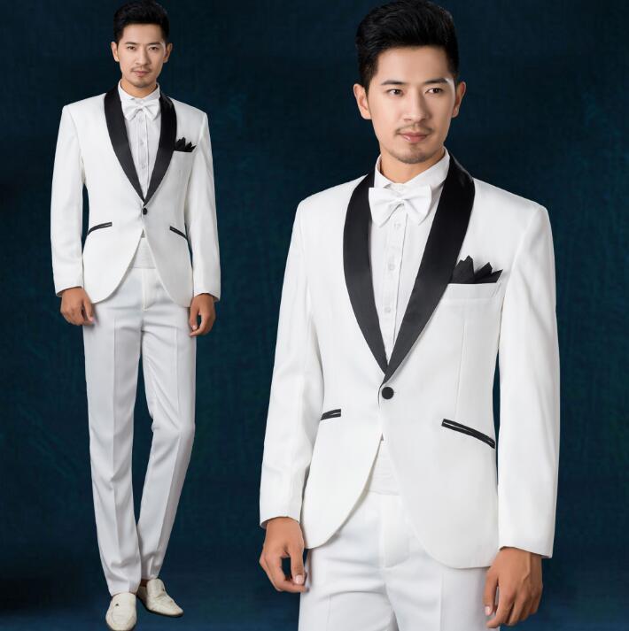 5fd542728c Vestido Cantante Formal Corbata Hombres Pantalones Con Novio De Ropa Danza Traje  Moda 2019 Para Boda ...