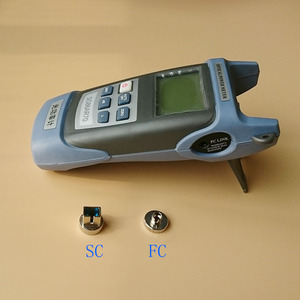 Image 3 - 2 w 1 zestaw narzędzi światłowodowych FTTH King 60S miernik mocy optycznej 50 do + 20dbm i 1mW lokalizator uszkodzeń wizualnych światłowodowy długopis testowy