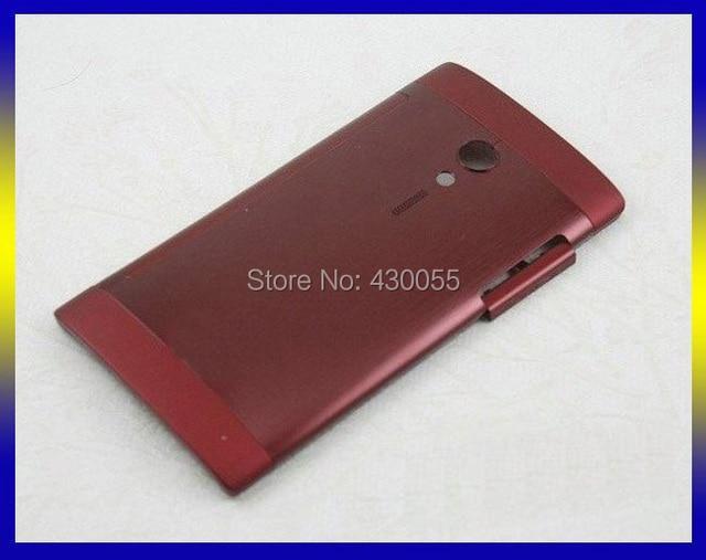 Красный Цвет Новый Корпус Батареи Задняя Крышка Крышка Дверь Для Sony Ericsson Xperia ион LT28 LT28i LT28h Бесплатная Доставка