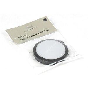 Image 5 - 52/55/58/62/67/72/77mm capuchon dobjectif Balance des blancs avec support de filtre WB pour Canon Nikon Sony Pentax filtre/objectif dappareil photo numérique