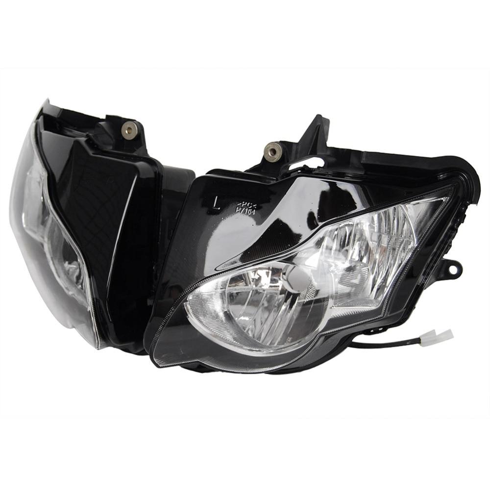Motorcycle Front  Headlight for Honda CBR 1000RR 2008 2009 2010 2011/ Black Motor Lighting