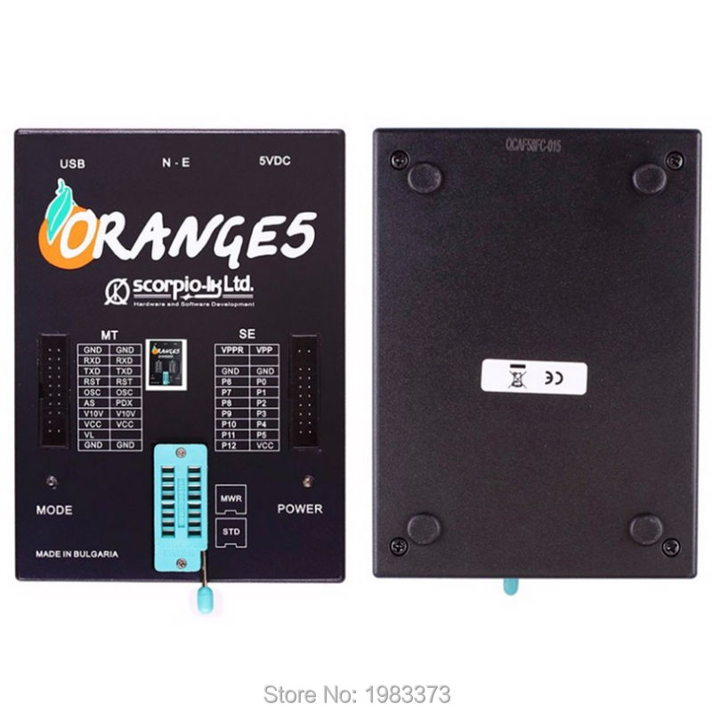 High Quality OEM Orange5 Professional Programming Device With Full Adapter and Software Enhanced Function Orange 5 Programmer