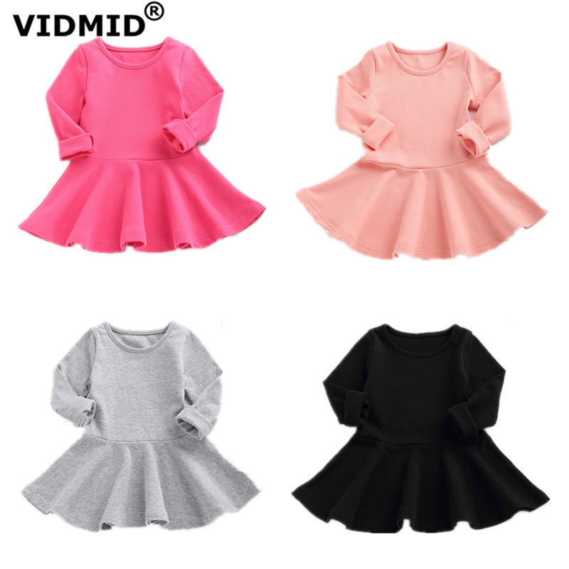 VIDMID baby girls cotton long sleeve clothes kids dresses clothing childrens dresses girls princess dresses blouse 4052 04VIDMID baby girls cotton long sleeve clothes kids dresses clothing childrens dresses girls princess dresses blouse 4052 04