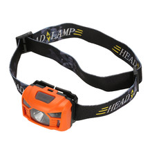 Infrared Sensor Usb Headlight Portable Headlamp Torch Energy Saving Light for Outdoor Hiking Head lamp Led Mini Headlight Torch(China)