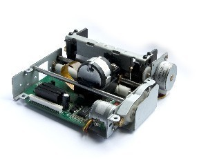 цена на 76mm DOX Matrix printer mechanism compatible with BIXOLON SMP130 with 9 pin dot head PD130B