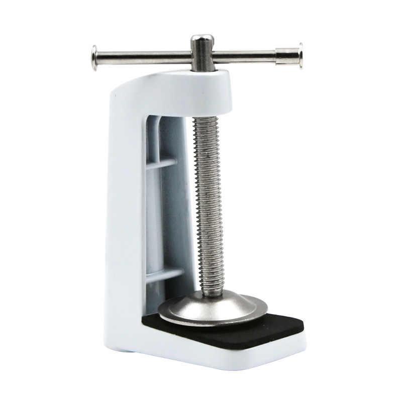 Шланг из нержавеющей стали фиксированная База Зажим держатель для поворотного рычага настольная лампа WWO66