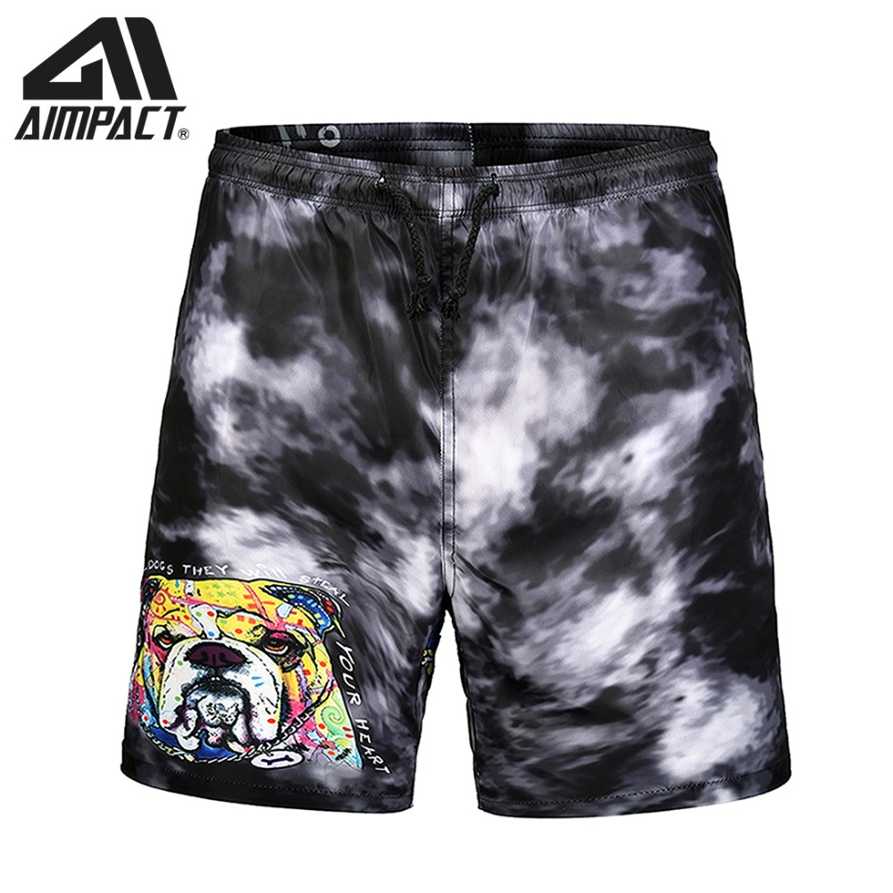2019 New Summer Quick Dry 3D Dog   Board     shorts   for Men Beachwears Casual Male Swimwear   Shorts   Holiday Surfing Swim Trunks AM2138