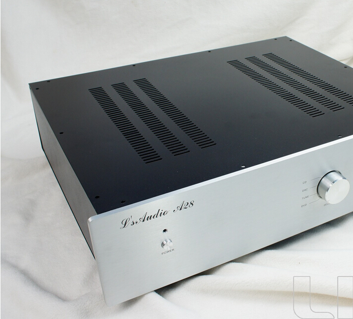 A28 - A series preamplifier general chassis AMP Box amplifier enclosure 3206 amplifier aluminum rounded chassis preamplifier dac amp case decoder tube amp enclosure box 320 76 250mm
