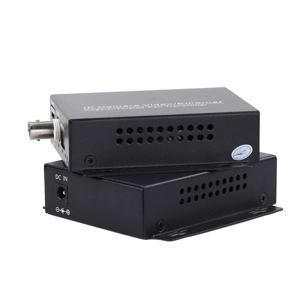Image 4 - 2km Ethernet Extender Over IP Coaxial Network Extender 1080p  Video Converter Transmitter Receiver Support HIKVISION Dahua-in Transmission & Cables from Security & Protection