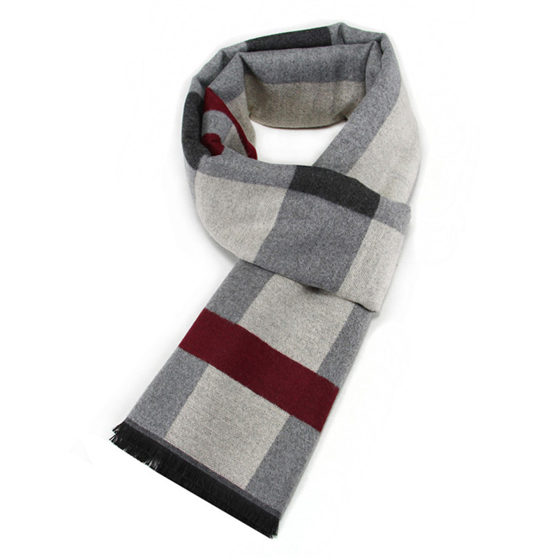 Fashion Design Casual Scarves Winter Women  Men's Thicken Cashmere Scarf Luxury Brand High Quality Warm Scarves Men