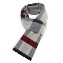 Fashion Design Casual Scarves Winter Women  Men's Thicken Cashmere Scarf Luxury Brand High Quality Warm Scarves Men