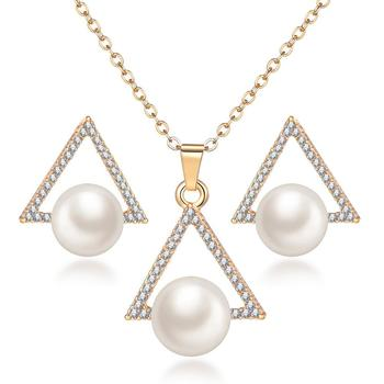 Women's Vintage Pearl Imitation Jewelry Set Jewelry Jewelry Sets Women Jewelry Metal Color: F1122