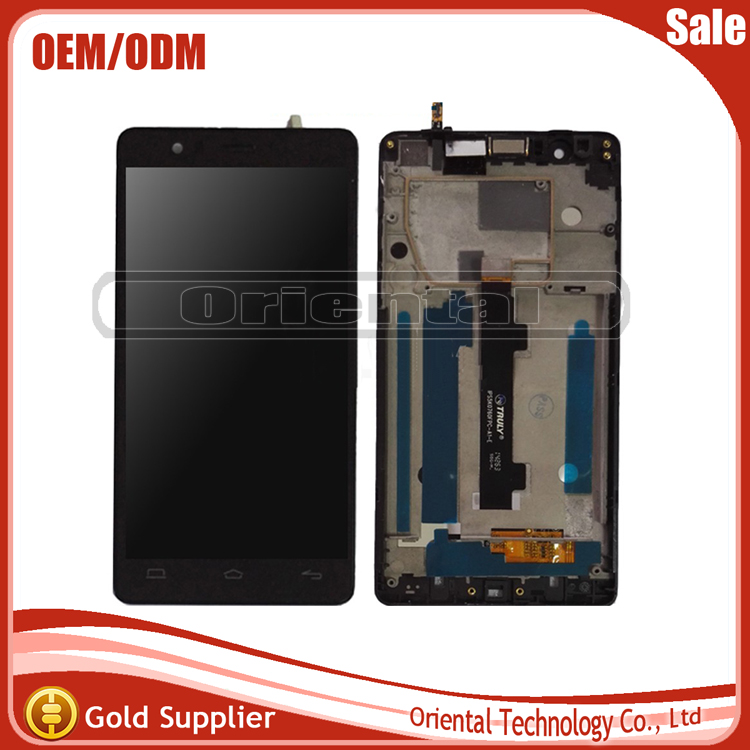 LCD Display+Touch Screen Digitizer For BQ Aquaris E5 FHD LCD Screen TFT5k0760FPC-A2-E with frame free shipping