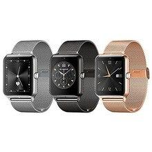 Androidแฟชั่นนาฬิกาบลูทูธสมาร์ทZ50ที่มีอัตราการเต้นหัวใจซิมการ์ดTF mp3 mp4ใช้งานร่วมกับแอปเปิ้ล2016ใหม่ล่าสุด