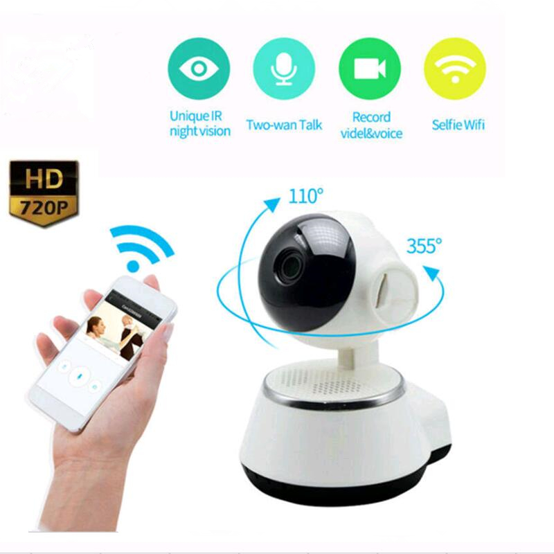 Home Security IP Camera Wireless 720P Pan Tilt Network Smart WiFi Camera Record Surveillance Baby Monitor HD Mini Camera howell wireless security hd 960p wifi ip camera p2p pan tilt motion detection video baby monitor 2 way audio and ir night vision