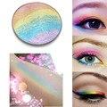 Naturaleza Brillo Brillo Del Maquillaje Paleta Rostro de Ojos Contorno Bronceador Highlighter Powder Arco Iris de Sombra de Ojos