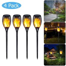 Solar Flame Lamp Flickering IP65 Waterproof 51LED Garden Decoration Landscape Light Lawn Lamp Path Lighting Torch Light недорого